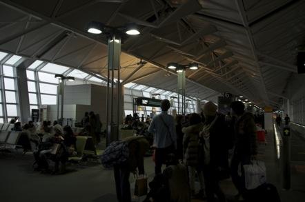 中部国際空港 16番ゲード