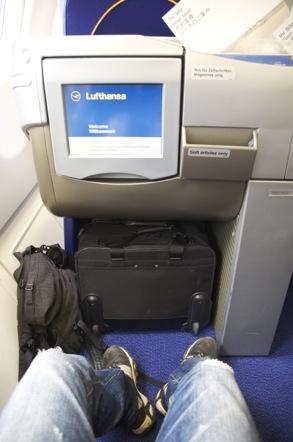 ルフトハンザ ビジネスクラス 座席