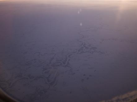 ロシア シベリア上空