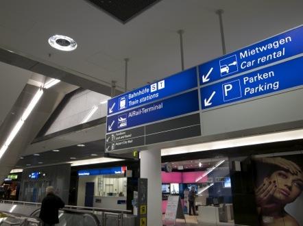 フランクフルト空港 フランクフルト中央駅 S8 S9