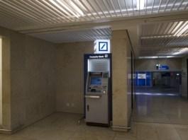 フランクフルト空港 キャッシングコーナー