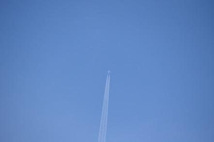伊良湖岬 上空 航空路