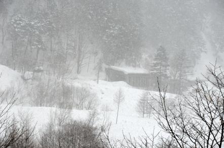 上高地 旧釜トンネル
