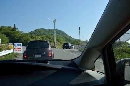 茶臼山 芝桜 駐車場