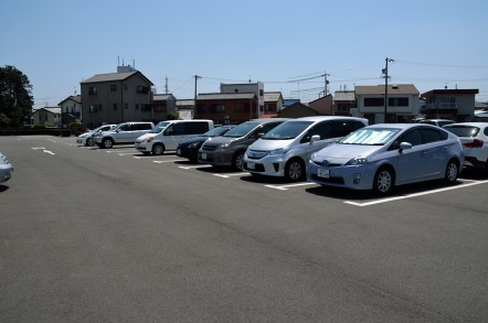 豊川稲荷 駐車場
