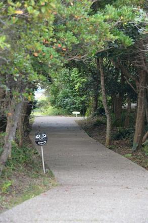 御前崎ケープパーク(遊歩道)