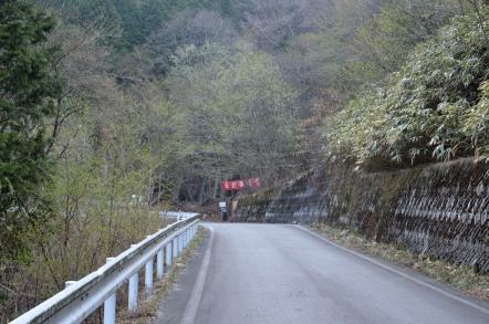 白草山 黒谷林道 入り口