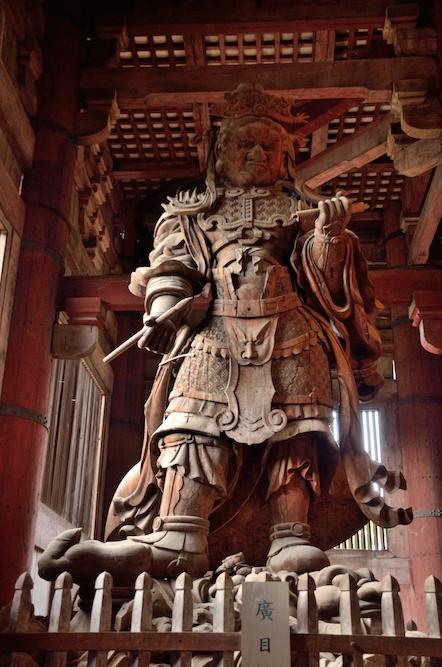 東大寺 金堂 広目天立像