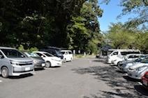 養老公園 駐車場