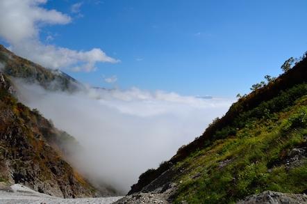白馬岳 大雪渓