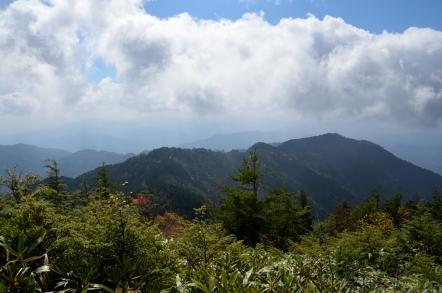 小秀山 二の谷ルート 第一高原
