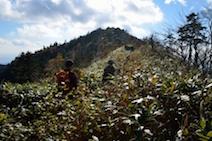 小秀山 下山