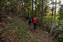 小秀山 三の谷ルート