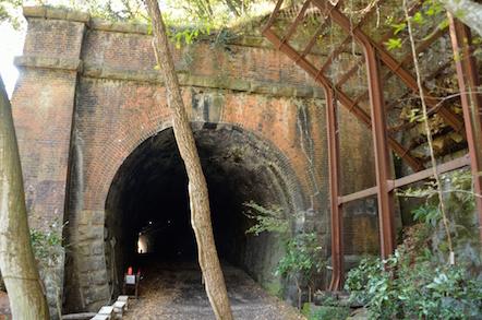 産業遺産 愛岐トンネル群 3号トンネル