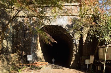 産業遺産 愛岐トンネル群