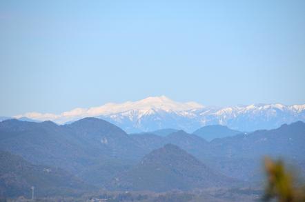 猿啄城展望台 乗鞍岳