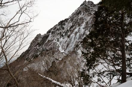 御在所岳 冬 裏登山道