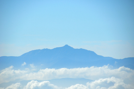 木曽駒ヶ岳 千畳敷カールからの南アルプス 塩見岳