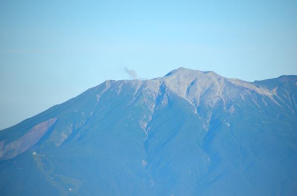 木曽駒ヶ岳 中岳 巻き道 御嶽山