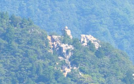 鎌ヶ岳 山頂