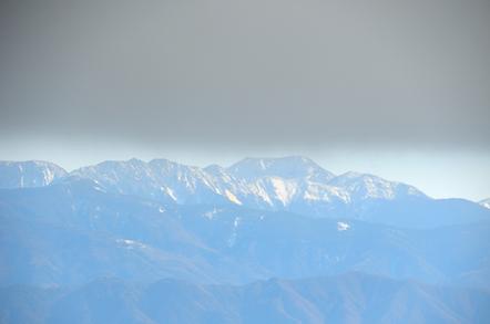 西農鳥岳 農鳥岳