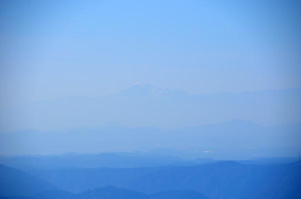 富士見台高原から伊吹山