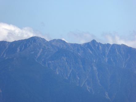 木曽駒ヶ岳 中岳 宝剣岳