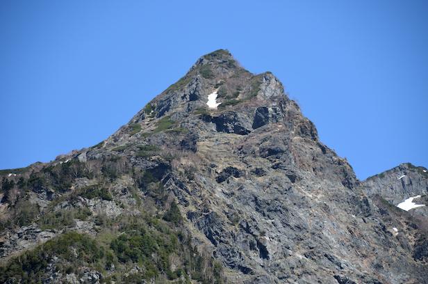 明神岳 山頂