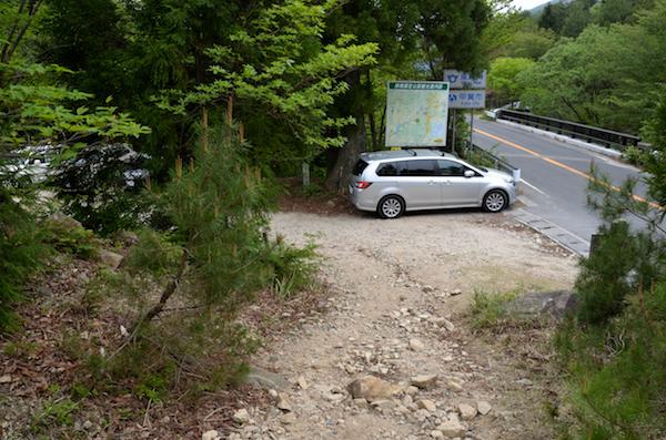 武平峠 滋賀県側駐車場