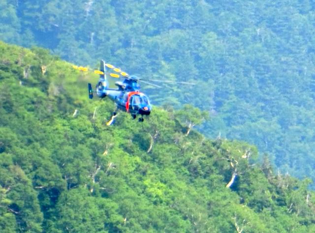長野県警山岳救助隊