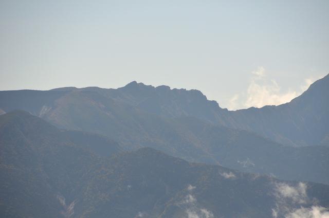 蓼科山 山頂 横岳