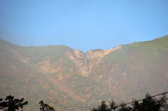 御嶽山 幻の滝