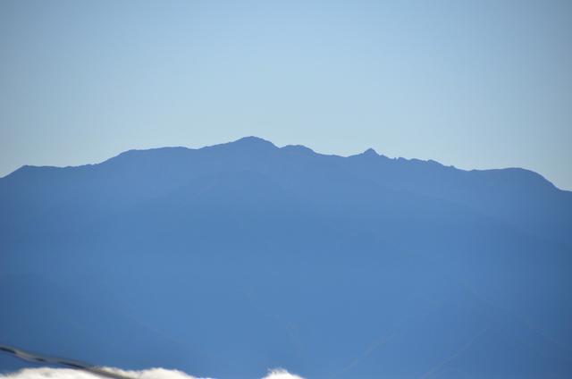 中央アルプス 木曽駒ケ岳、中岳、宝剣岳