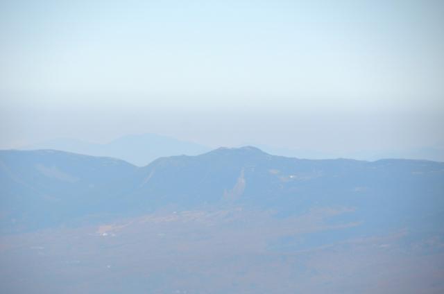 甲斐駒ヶ岳からの眺め 北横岳