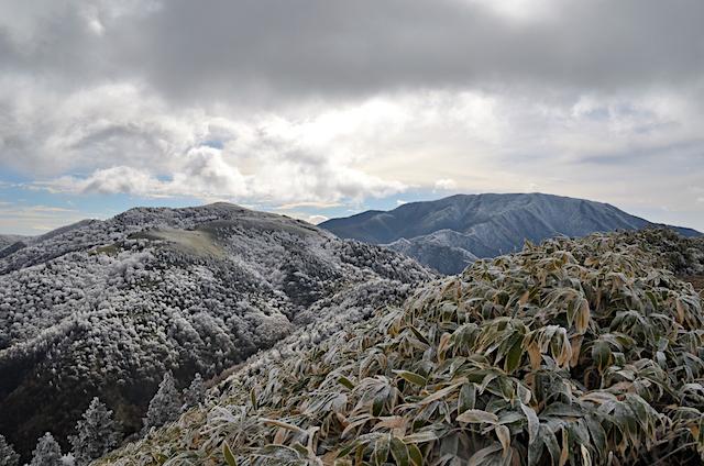 横川山 山頂 富士見台高原〜恵那山
