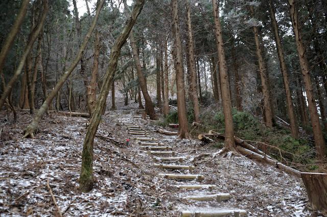 三峰山 登尾ルート