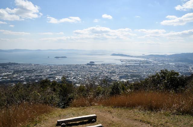 五井山 山頂からの眺め