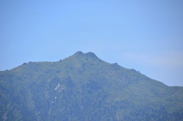 屋久島 太鼓岩からの眺め 宮之浦岳