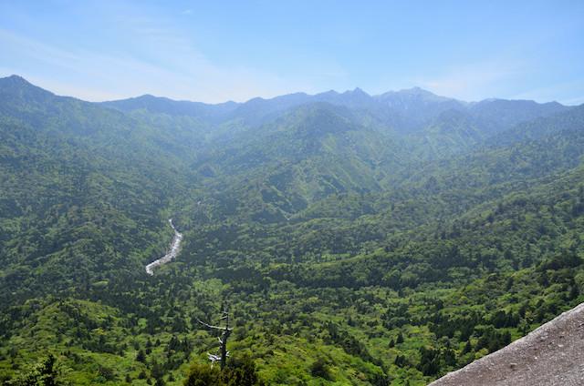 屋久島 太鼓岩からの眺め