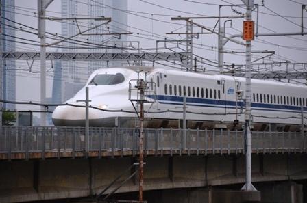 尾張西枇杷島祭り 東海道新幹線 N700