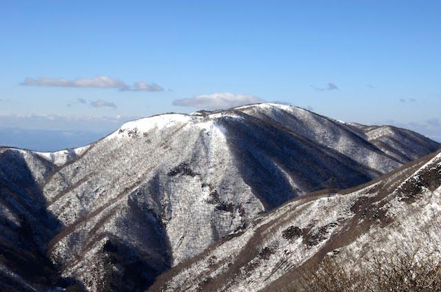 藤原岳 山頂からの眺め 御池岳