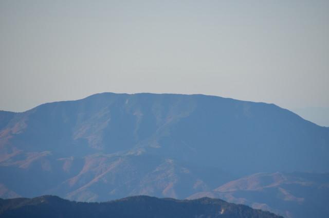 空木岳 山頂からの眺め 恵那山