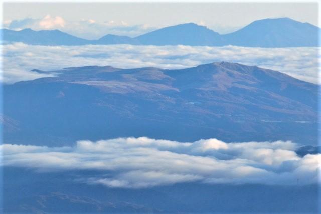 空木岳 山頂からの眺め 車山方面