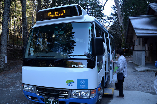 北沢峠 バス