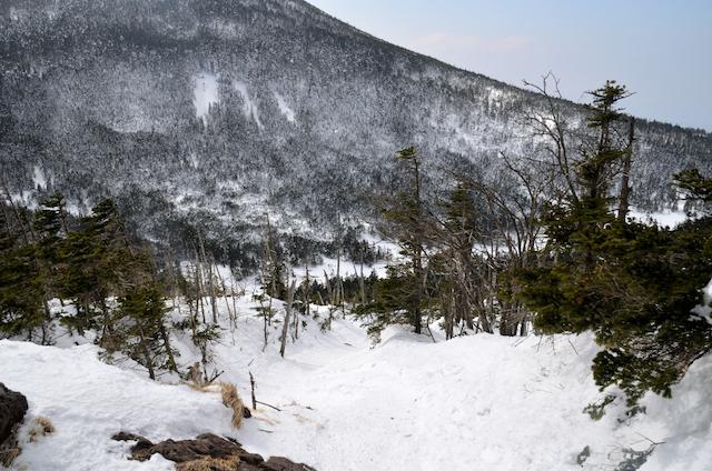 北横岳 登山 冬 雨池峠