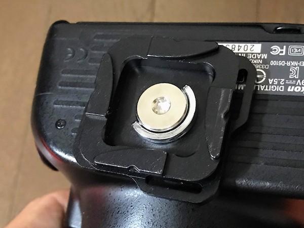 ノーブランド品 カメラクイックリリース カメラ側金具