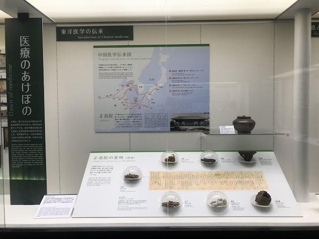 内藤記念くすり博物館 東洋医学の伝来