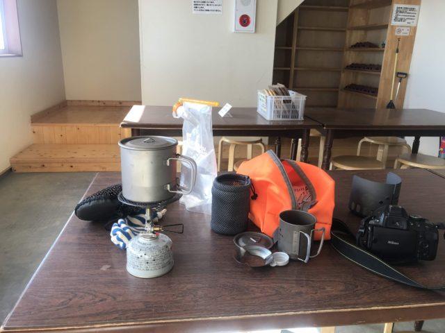 燕山荘 自炊室