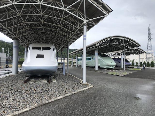鉄道総研 風洞技術センター 新幹線試作車