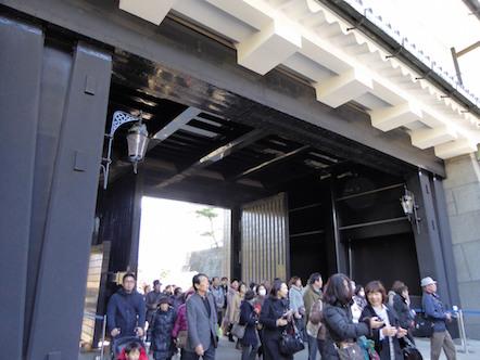 秋季皇居乾通り一般公開 坂下門